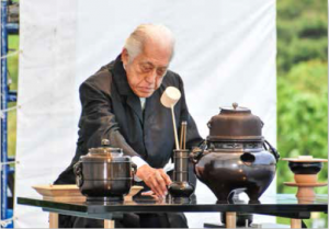Tea Ceremony for world peace